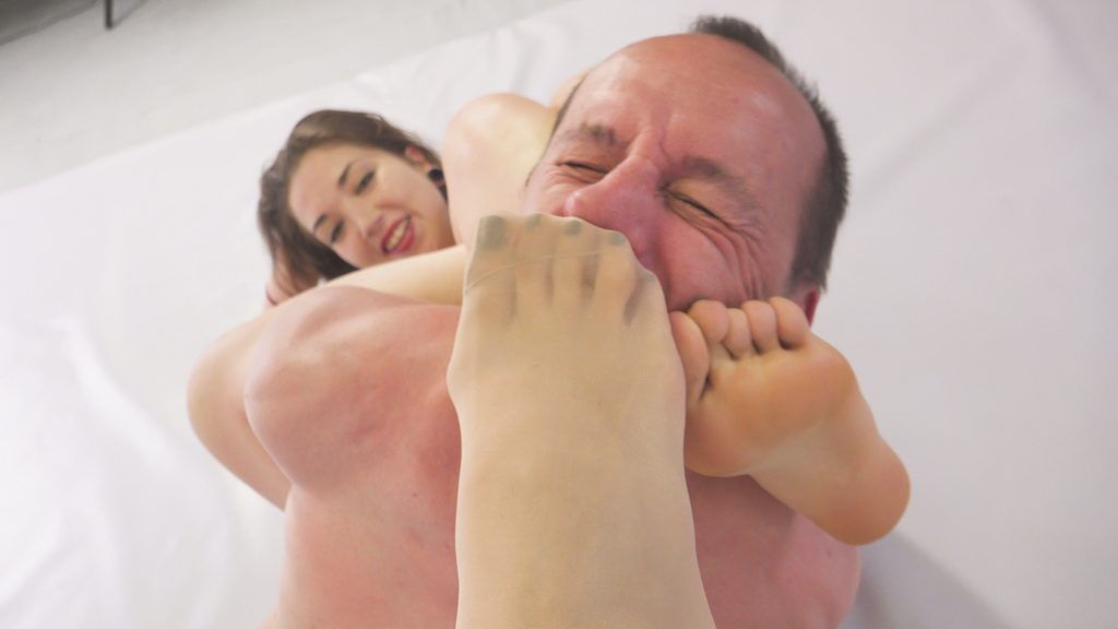 foot fetish forced