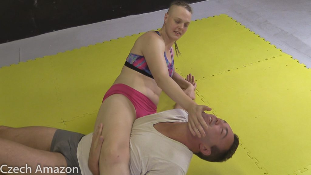 mixed wrestling anika